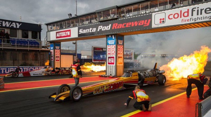 One Last Race for the Split Second Dragster Sponsored by TateOil