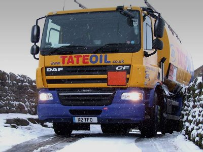 Domestic heating oil delivery.